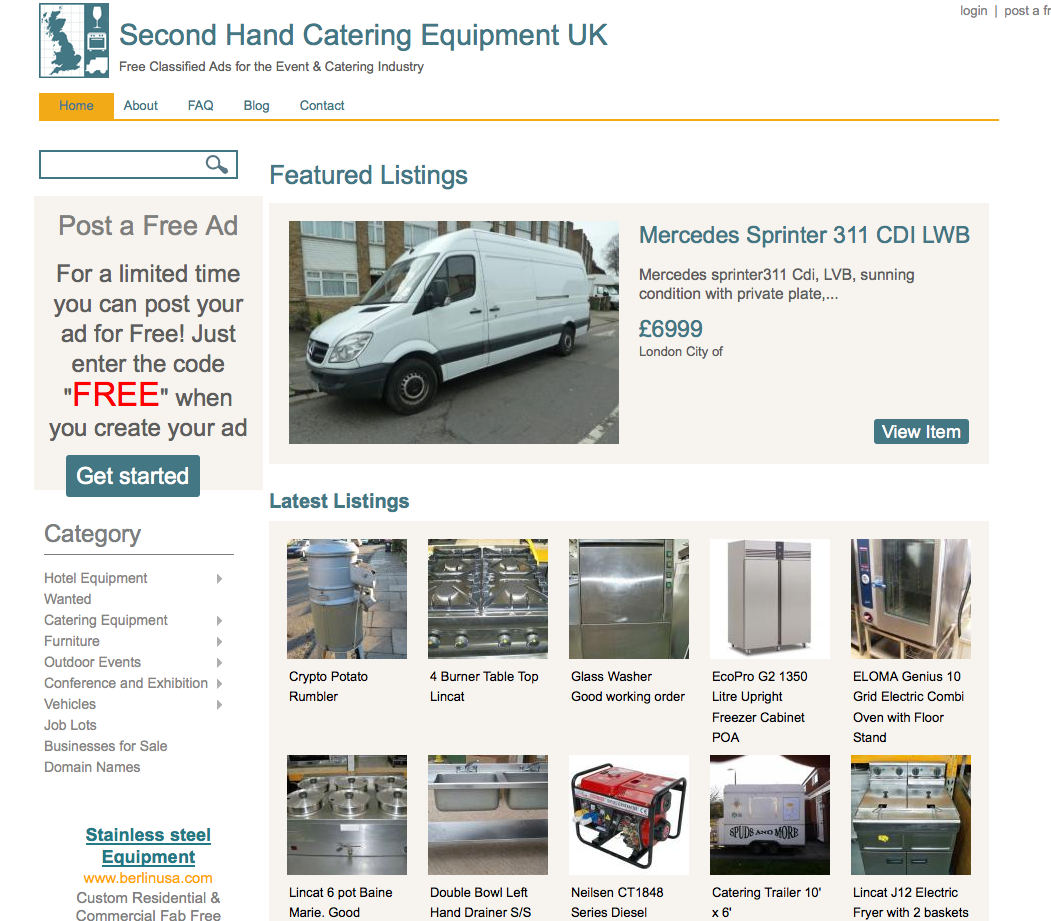 Free Classified Ads on SHCE