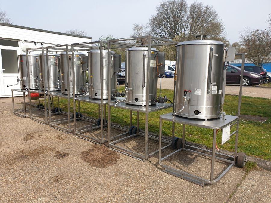 LPG Water Boiler Hire