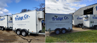 Emergency Fridge Freezer Trailer
